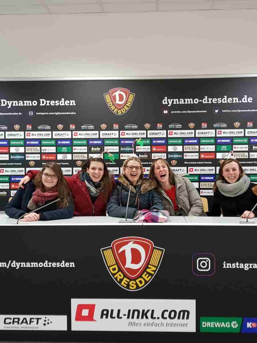 2019-12-05 Führung - Pressekonferenz - Weihnachtsfeier 2019 von Praxis Dr. Linda Franck